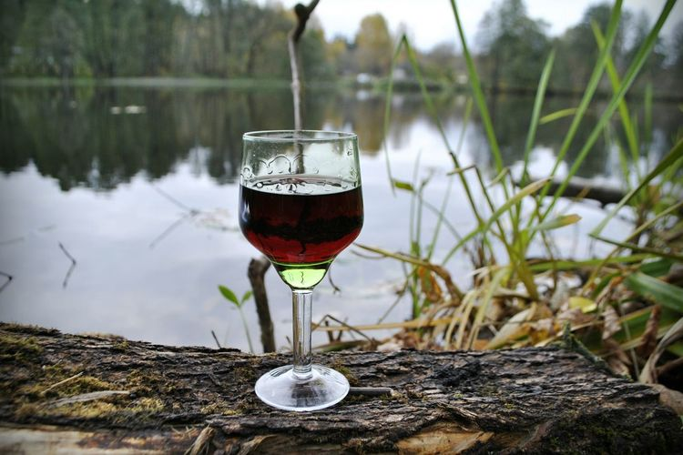 Lake Wineglass Reflection Drink Water Nature Alcohol Drinking Glass Beach Freshness Sky лмд LakiMirazh Россия лакиМираж Lmd Russia Horror Art Style осень серпухов Serpukhov Mirror зеркало