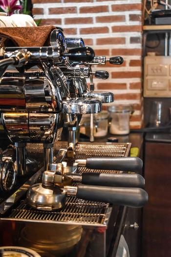 Espresso maker in caf�
