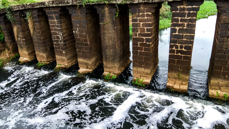 Bridge Water Built Structure Outdoors Motion Flowing Flowing Water Architecture Day Canals