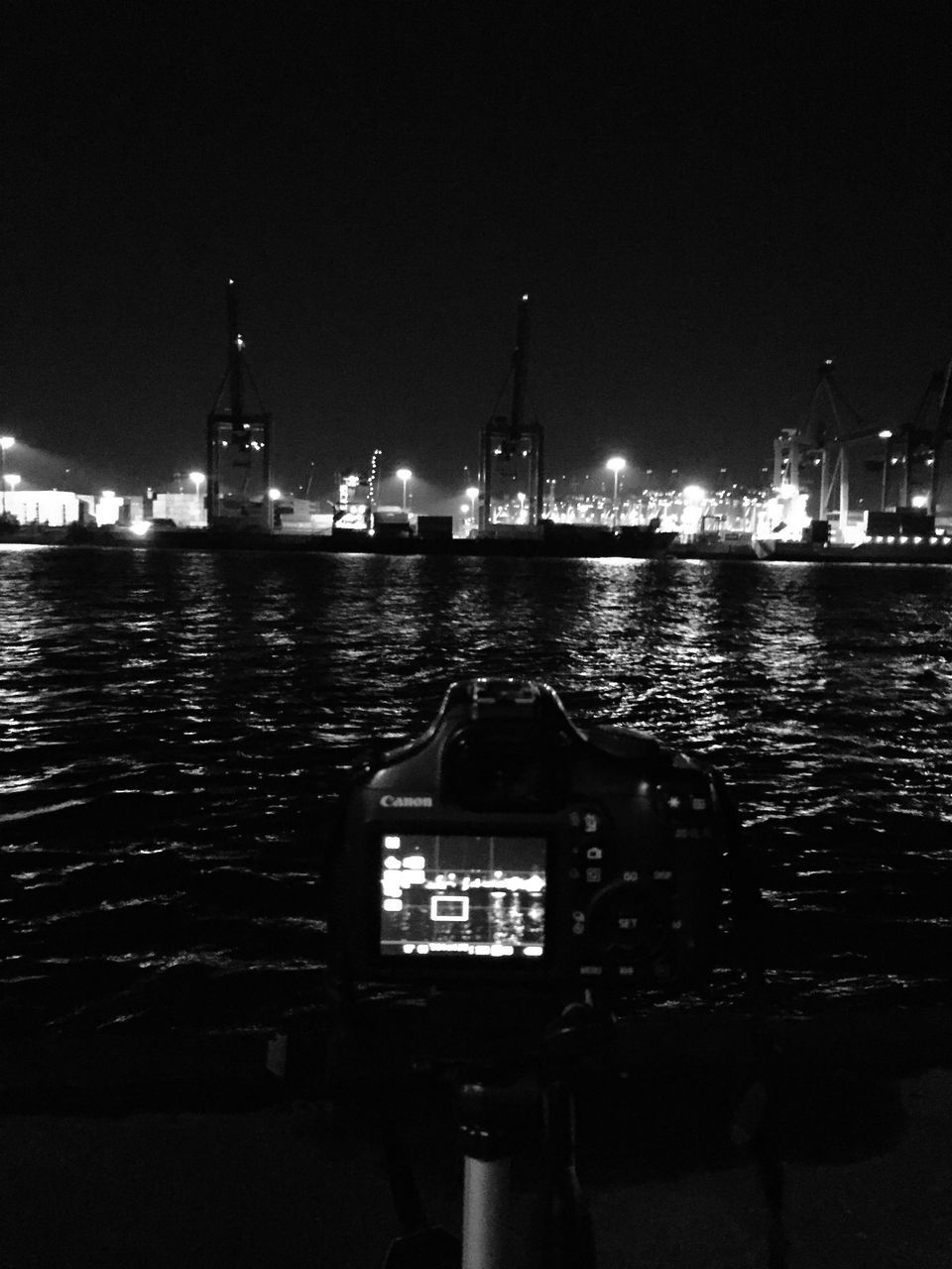 illuminated, night, water, nautical vessel, architecture, no people, river, built structure, outdoors, waterfront, building exterior, sky, nature, moored, harbor, clear sky, city
