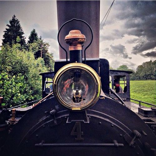 Steam Locomotive Bauma