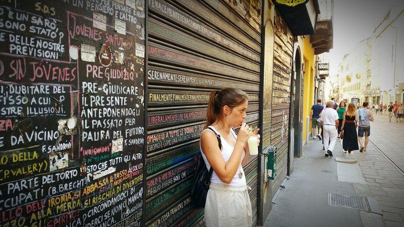 City Italia Milano Lifestyle Ice Cream Gelati Street Photography Streetart