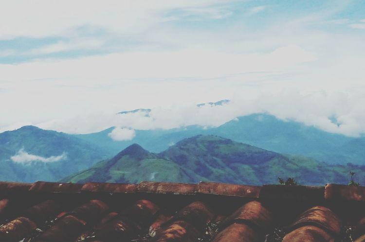 Por encima del techo. Pueblo Antioquia First Eyeem Photo