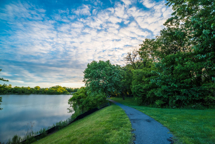 Baltimore Beauty In Nature Cloud - Sky Cufotos Day Grass Green Color Growth Landscape Mary Nature Nikon Nikonphotography No People Outdoors Road Scenics Sky Tranquil Scene Tranquility Tree Water