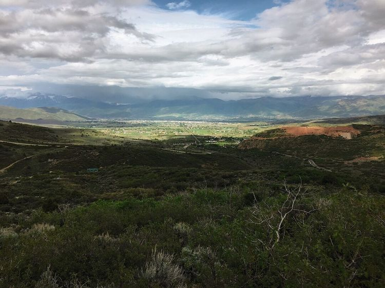 watching the t-storms in the distance. Utah Wasatch Mountains Cloud - Sky Sky Landscape Scenics - Nature Environment Beauty In Nature Tranquil Scene