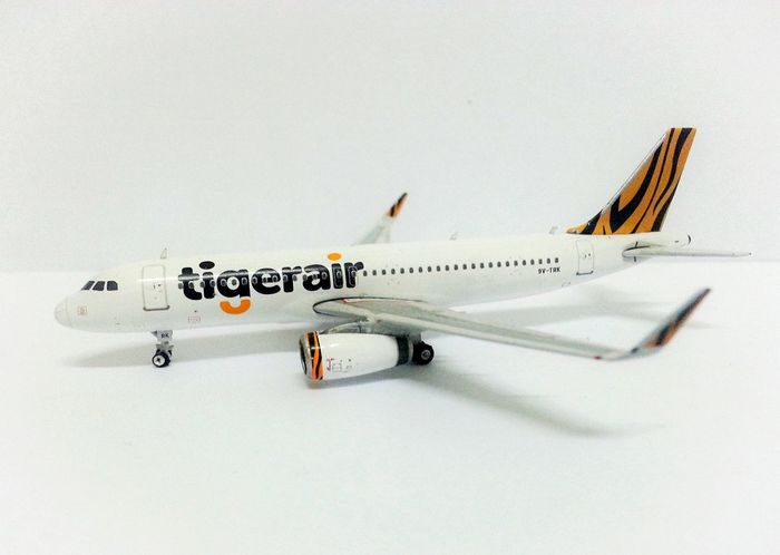 Aircrafts Airbus A320 Tigerair