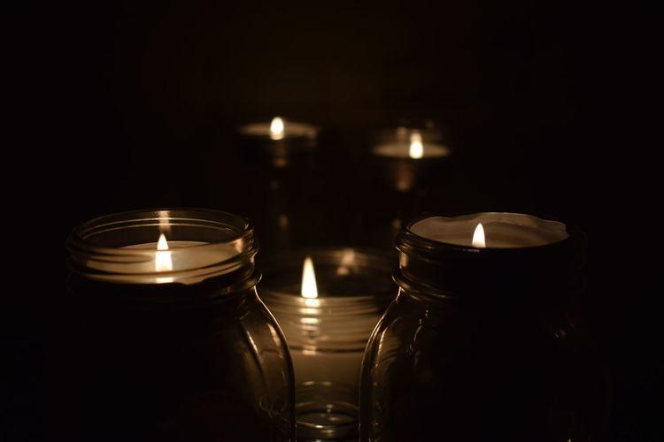 #nikonmania #candles #indoors #jars #light #nightshot #nikonphotography Close-up