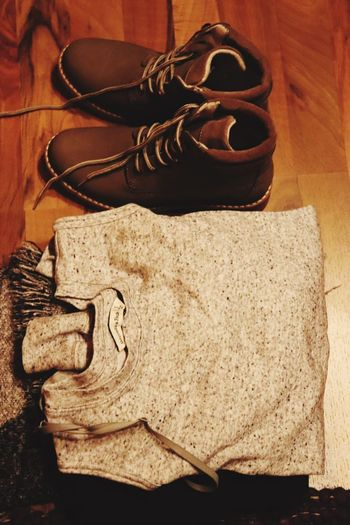 Shoe Indoors  Pair High Angle View No People Close-up Fashion Stories Shades Of Winter