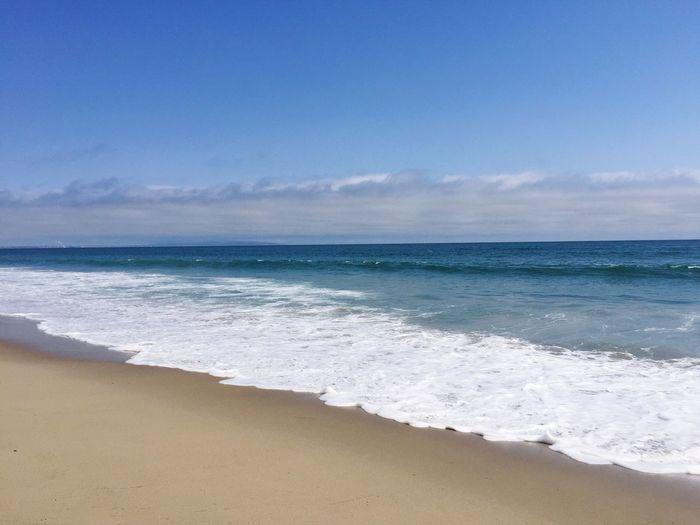 Blue Wave California Pacific Ocean