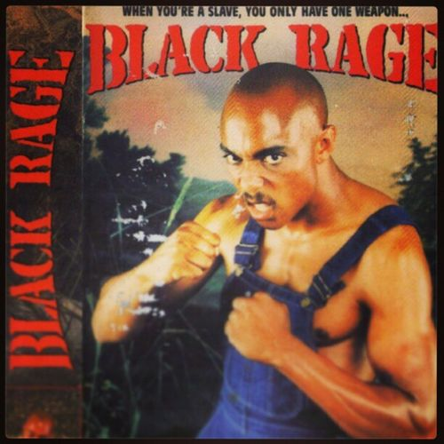 What if I'm a slave but not black? Can I still channel that power? VHS BlackRage Slavery Ridiculous Movie LOL Hilarious