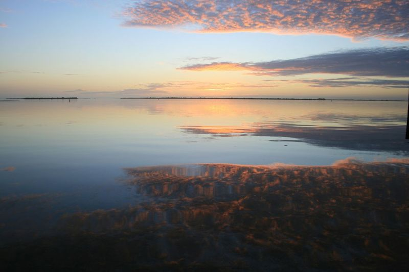 Edge Of The World Capturing The Sun Water Reflections Sunset_collection United States Florida Clouds And Sky