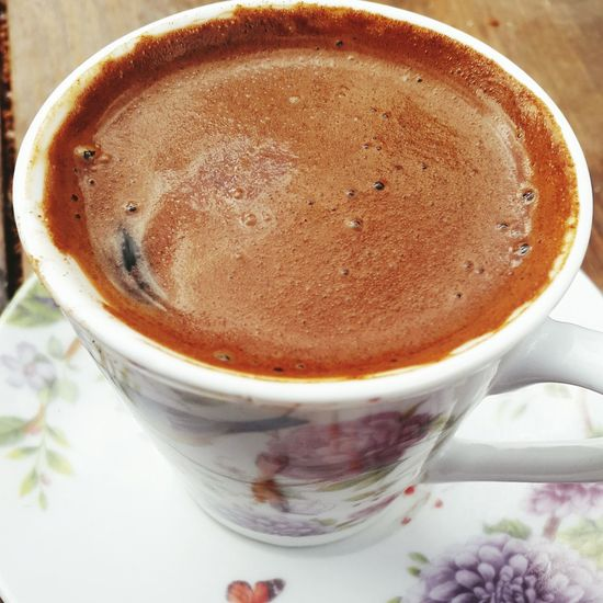 ☕☕😍😋my favourite EyeEm Türkkahvesi Turkkahvesicandir EyeEm Selects Drink Coffee - Drink Food And Drink Coffee Cup Refreshment Frothy Drink Freshness Indoors  Close-up No People Table Cappuccino Latte Froth Art Healthy Eating Mocha Day
