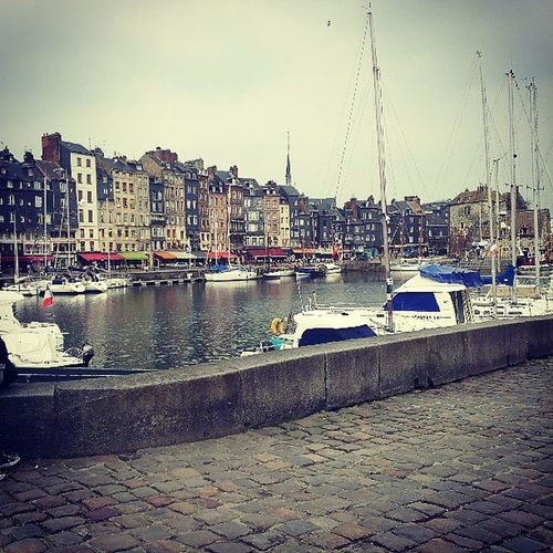 Honfleur France Sea Boatsandbuildings spring freezing instafrance