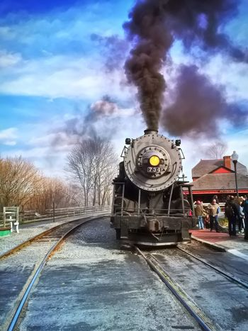 Another look at one of the big engines that powers the Western Maryland Scenic Railroad. Train Train Station Trains Railroad Western Maryland