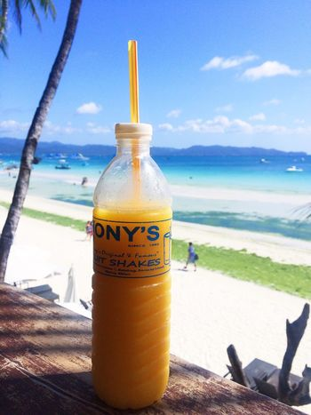Boracay Mangoshake Summertime Beach