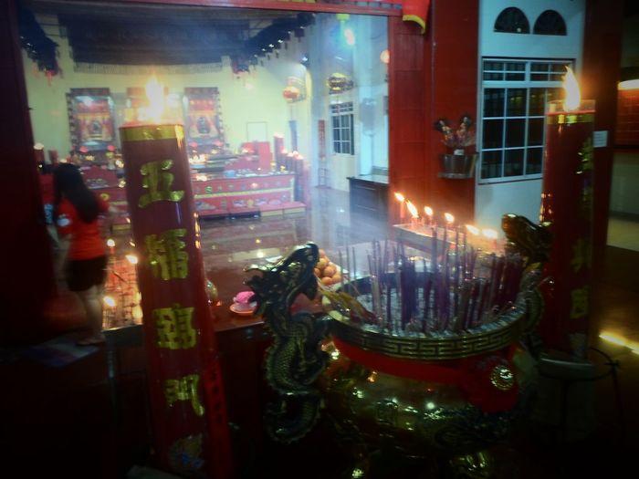 Dupa Temple Kijang Kota Bintanisland Chinese New Year Imlek2017