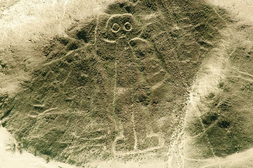 The Astronaut - Nasca Lines - Peru Astronaut Lines Man Nazca Peru Aerial Nasca Nasca Lines
