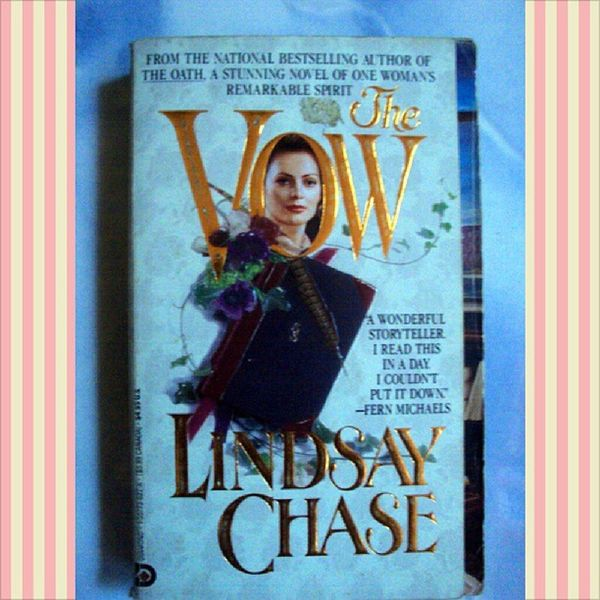 The Vow by Lindsay Chase. Php50.00 only! Cebu buyers only. PM me for more info... Facebook: www.facebook.com/meanieJEMini Twitter: jemzjane Viber/WeChat/Line: 09228633340 Cebu BookLovers Bookworms Booksforsale Sale BUYNOW Reshare Igers Igerscebu IGDaily Affordable