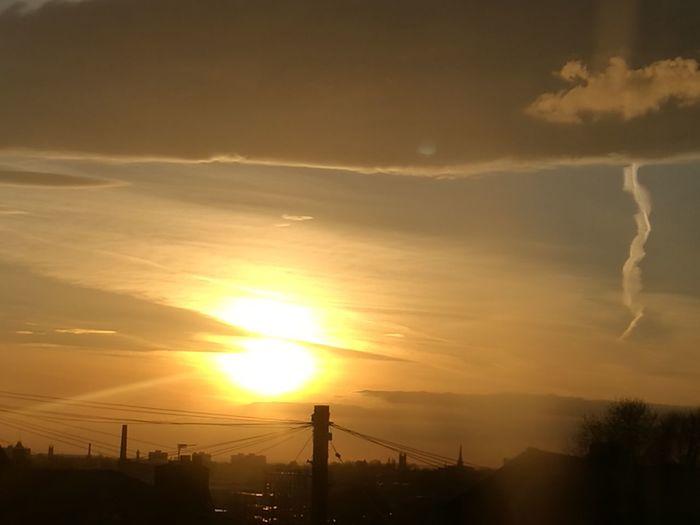 Soleil Couchant Sunset Sunset_collection El Sol Y La Noche El Cielo Hermoso Photography Tranquility