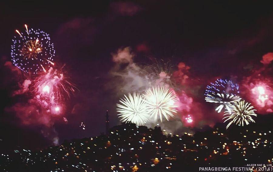 Fireworks Baguio Panagbenga 2014