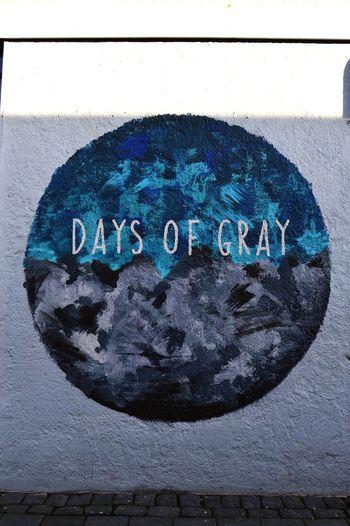 Days of Gray street art, Reykjavik Streetart Reykjavik Wall Wallart Wallart, Art, Culture, Mycity, Streetart, Graffiti Nikon D3200 CityWalk