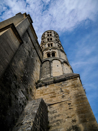Antique Architecture Blue Sky Building Exterior Built Structure Cloud - Sky Day History Low Angle View Medieval Medieval Architecture No People Outdoors Sky Tower Wall