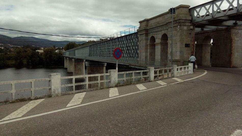 Punte internacional de tuy Architecture Bridge Building Exterior Built Structure Cloud - Sky Day Galicia Galicia, Spain No People Outdoors Pontevedra Puente Internacional Tuy Rio Miño Road Sky Tui Tuy Tuy Bridge