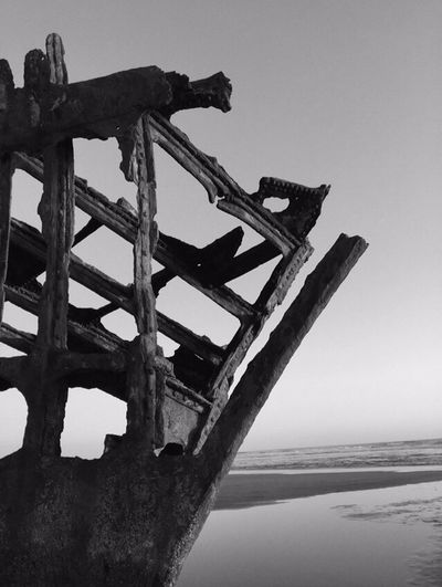 Blackandwhite Variations Shipwreck Black And White Ship Wrecked Boat Beachphotography Beach Photography Scenic Beach Views Sand Landscape Scenic View Landscapes Oregon Coast Perspective Landscape Photography Rustygoodness