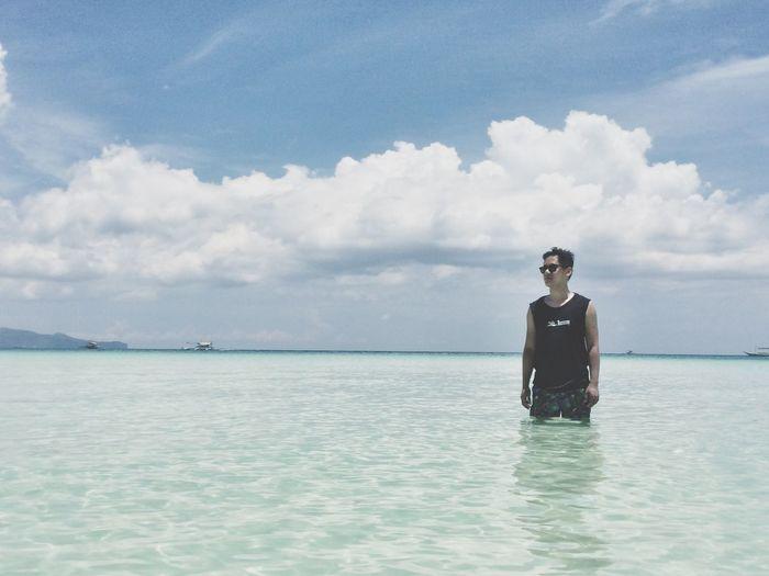 Enjoying Life That's Me Summertime In Boracay
