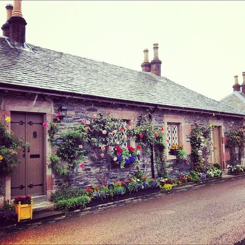 Luss village cottages