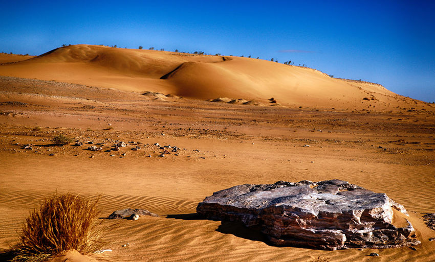 Desert Scenics - Nature Environment Landscape Non-urban Scene Rock - Object Rock Climate Tranquil Scene Beauty In Nature Rock Formation Geology Physical Geography Tranquility Nature Sky Arid Climate Solid Land No People Formation Eroded Sandstone Atmospheric