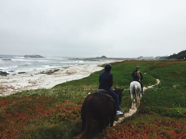The Great Outdoors With Adobe Pebble Beach CA HORSEBACK RIDING BEAUTIFUL DAY