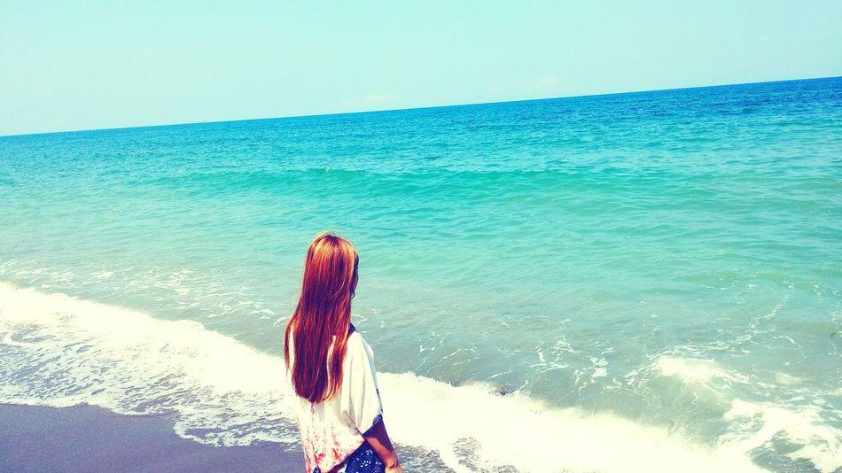 Followme Follow4follow Likeforlike Mavi Deniz Kum Gökyüzümavi Sunshine EyeEm Best Shots Cool