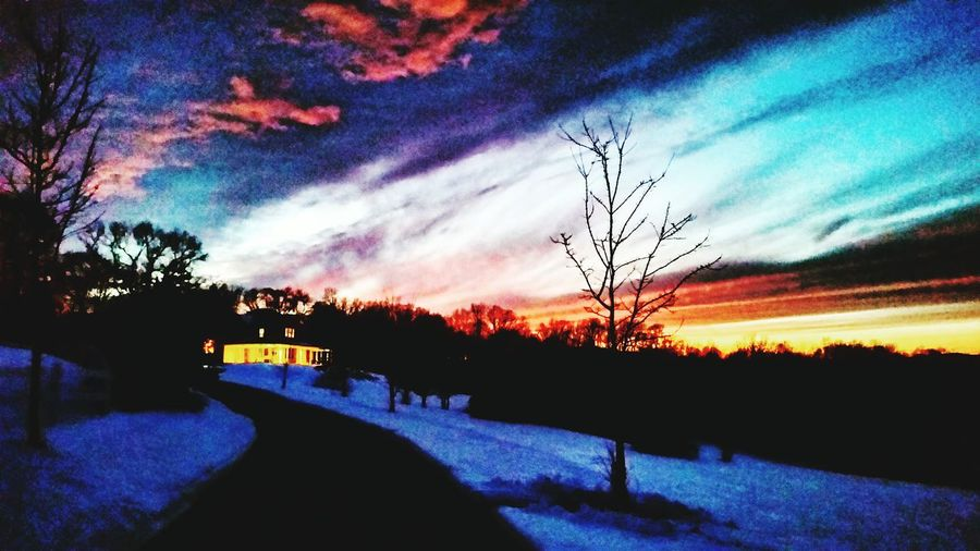 Perry county winter sunset Taking Photos Duncannon, Susquenita Pennsylvania Perry County Sunset_collection Sunsets