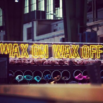 Wax on Wax off. #bbb #bbb2014 #berlin #fashion #fashionweek