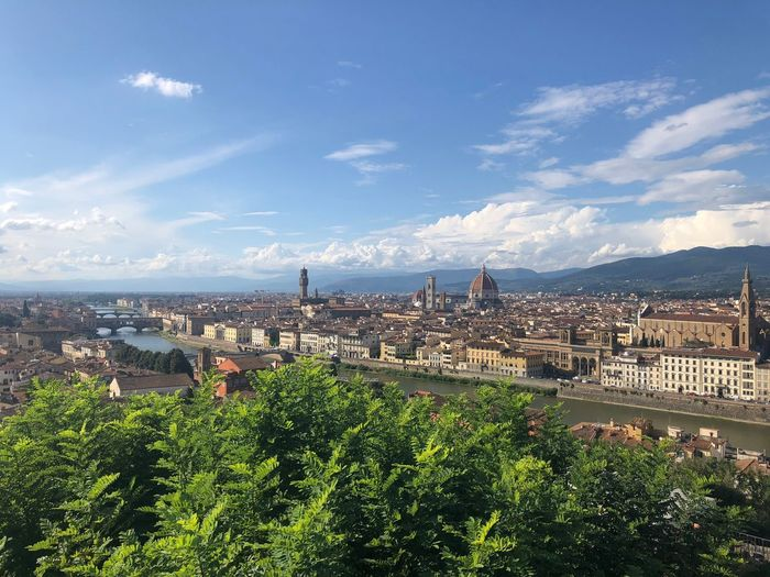 Florence from Piazza Michelangelo Baroque Travel Religious Architecture History Travel Destinations River Arno Architecture Sky Built Structure Building Exterior City Cloud - Sky Nature Day Outdoors Building Cityscape