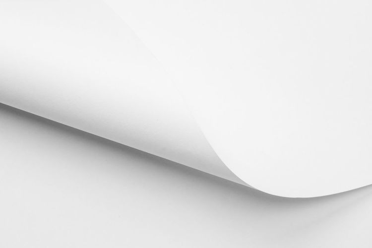 White Color Paper Indoors  Close-up Copy Space White Background No People Studio Shot Still Life High Angle View Single Object Backgrounds Full Frame Creativity Abstract Page Pattern Art And Craft Simplicity Table Blank