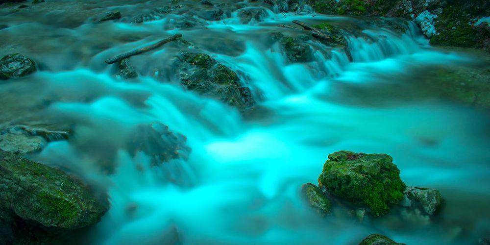 Long exposure of stream
