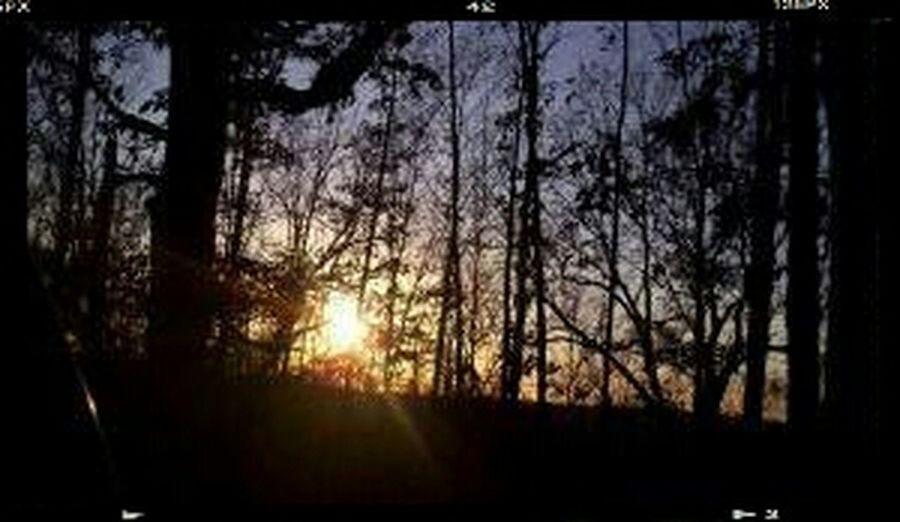 Sunset Silence Evening Sky Calming Evening Color