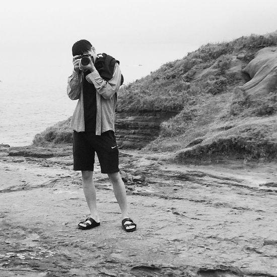 我喜歡拍你,也喜歡你拍我,因為我真的很喜歡從鏡頭裡看著你對我笑。 Photography Boyfriend Cute Love Taiwan