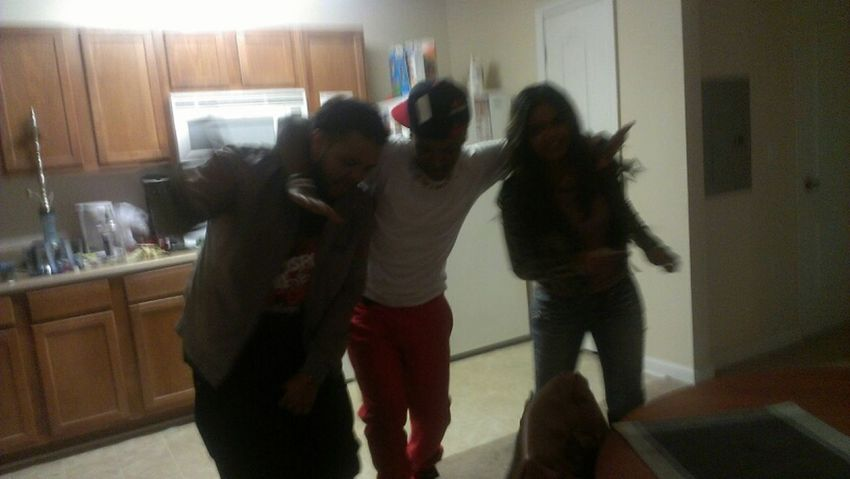 haveing an awesome time with drank dancing friends College MTSU