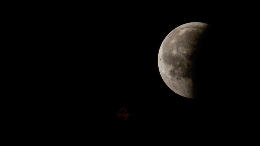 27072018 lunar eclipse Lunareclipse Astrology Astronomy Beauty In Nature Black Background Close-up Copy Space Dark Eclipse Low Angle View Moon Moon Surface Moonlight Nature Night No People Outdoors Planetary Moon Red Scenics - Nature Sky Space Tranquility