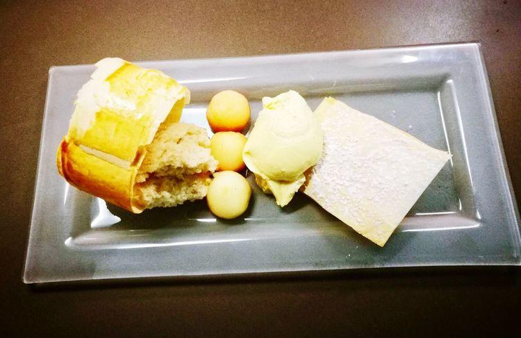 Food Ready-to-eat Dessert Nachspeise Apfelstrudel Malanders Apple Pomme Vanillemousse Mousse Au Vanille Ilovetocook Ichliebekochen
