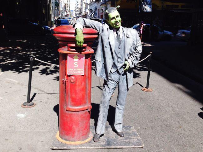 Buenos Aires Buenos Aires, Argentina  San Telmo Galería Del Asombro Zombie