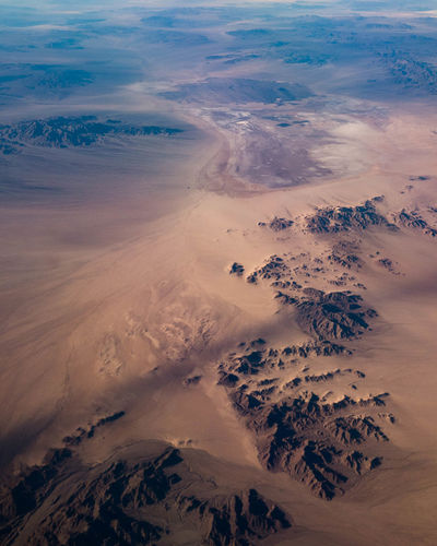 Aerial View Of Arizona Desert