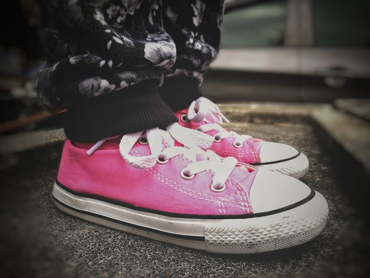 Taylor fit. Child Pink Color Close-up Outdoors Chucktaylor Chuck Taylor ChuckTaylors Taylor Gang People Eyeem Philippines Street Life EyeEm Best Shots EyeEmBestPics EyeEmNewHere Street Photography First Eyeem Photo City Life City Street Real People Low Angle View Kiddos Streetwear Streetwearfashion Fashion Photography Fashion Millennial Pink