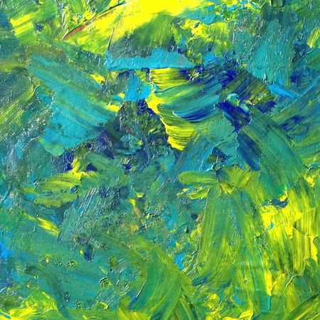 Detail of painting, Expressive energy, I played the paint like a piano then a string instrument with speed. Music Art Artist Colourful