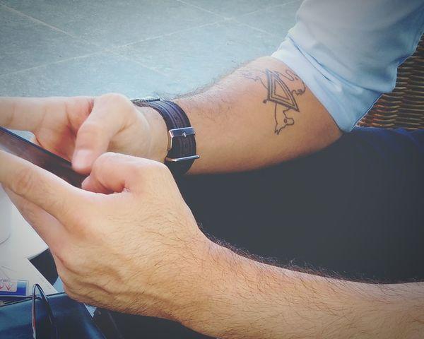 Geometric Shapes Tattoo