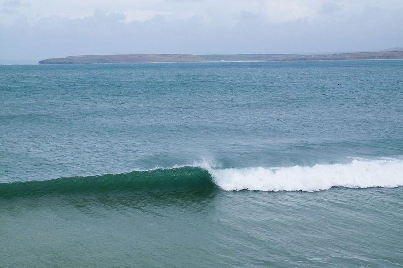 United Kingdom Cornwall Sea Wave Beach