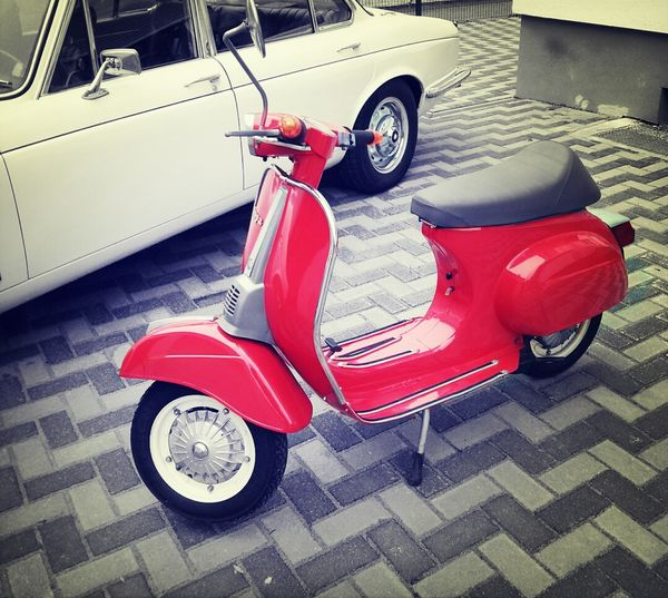 Vespa Myvespa Vintage Cars Red somebody wants to take a ride?